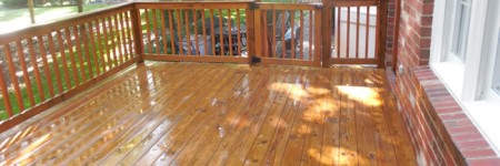 Deck Washing Home