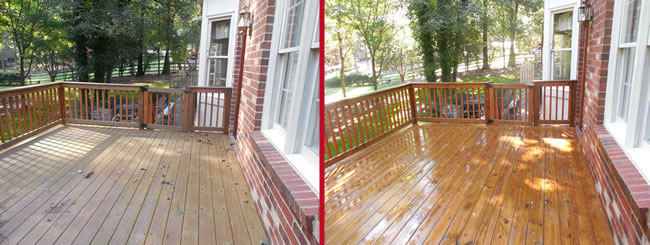Deck Cleaning Service Charlotte, NC
