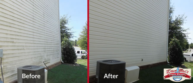 Power washing services in charlotte north carolina dave - Exterior house washing charlotte ...