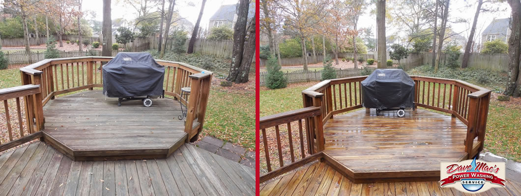 Deck cleaning charlotte