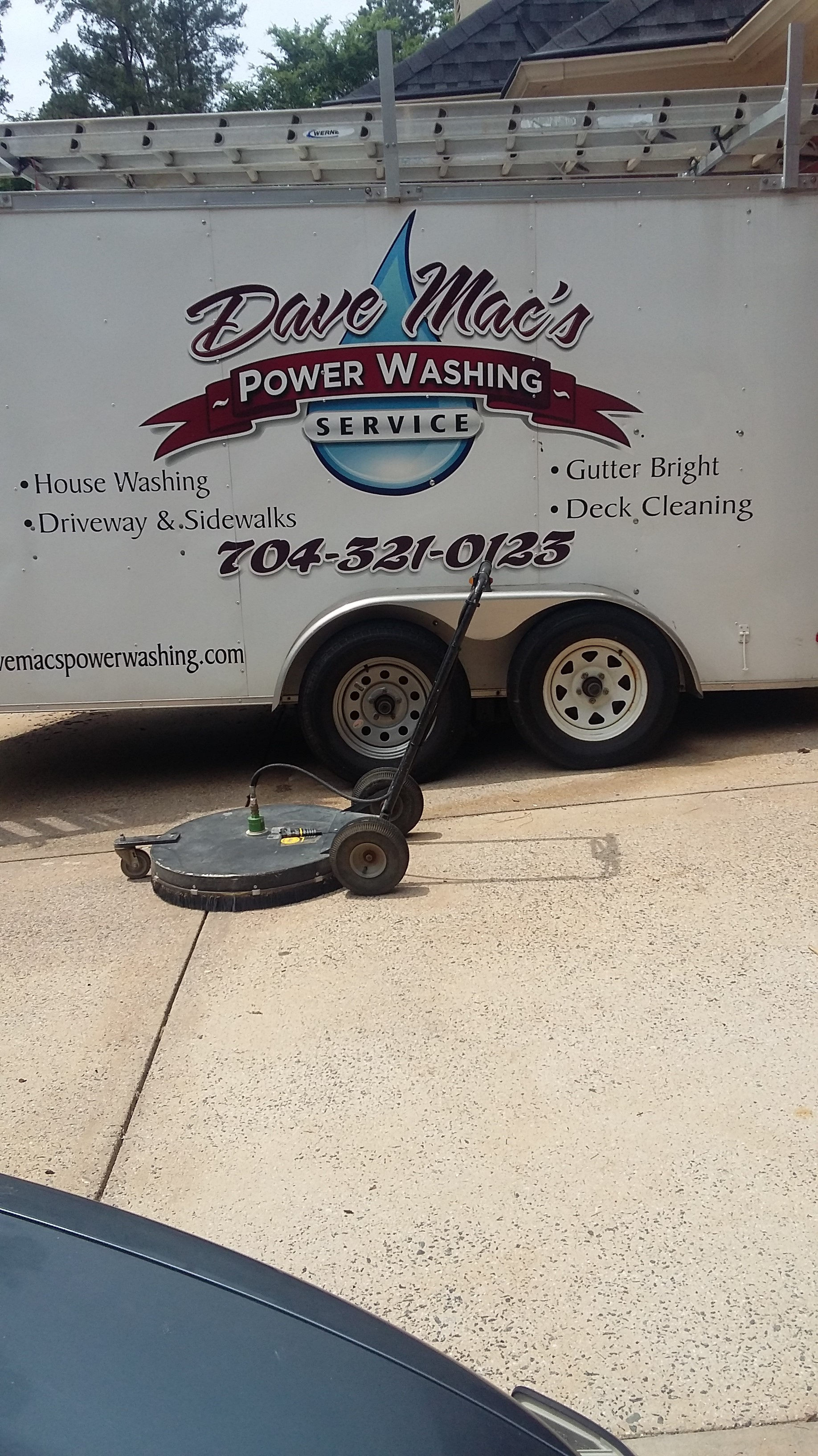 Pressure washing service