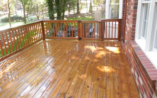Deck Cleaning and Washing Services